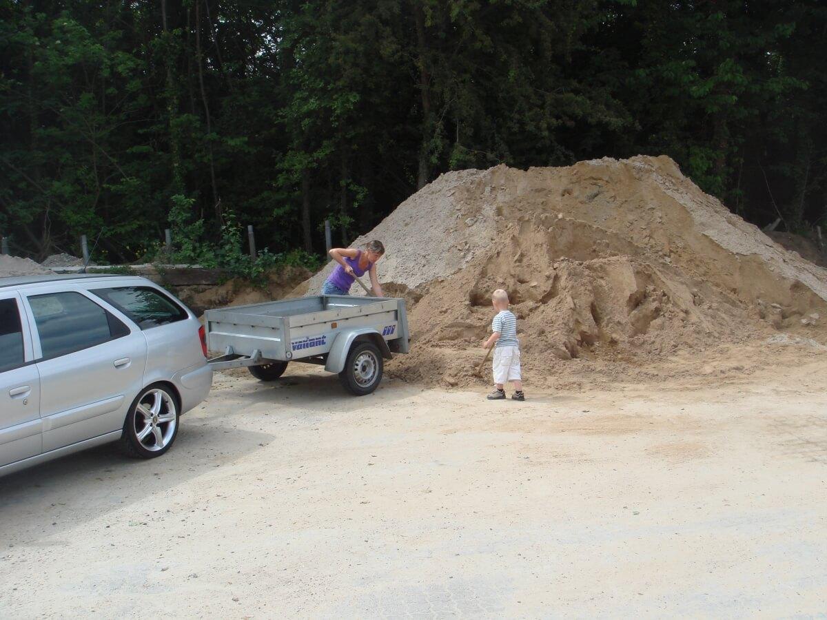 Selvafhentning af sand